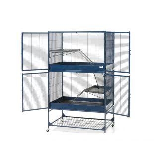 SAVIC Suite Royale 95 клетка для грызунов темно-синий, 95 x 63 x 159 см