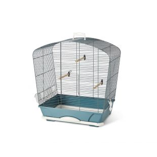 SAVIC Клетка для птиц Louise 40, синяя синий, 53,5 x 32 x 55 см