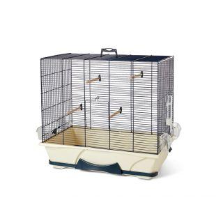 SAVIC Клетка для птиц Primo 50 темно-синий, 65 x 38 x 56,5 см