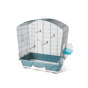 SAVIC Клетка для птиц Louise 50, синяя синий, 71,5 x 38,5 x 73,5 см