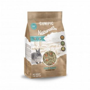 CUNIPIC Naturaliss корм для взрослого кролика 1,81 кг
