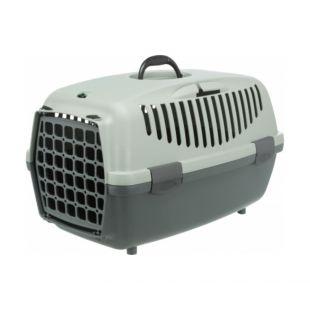 TRIXIE Переноска для животных Eco Capri 2 серый, 37 Ч 34 Ч 55 см