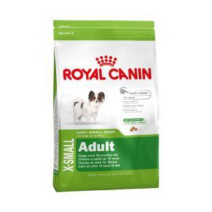 ROYAL CANIN Сухой корм для собак X-small Adult 1.5 кг