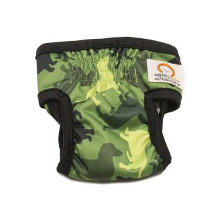MISOKO&CO Многоразовые подгузники для сук XL, камуфляж