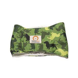 MISOKO&CO Многоразовые подгузники для кобелей S, камуфляж