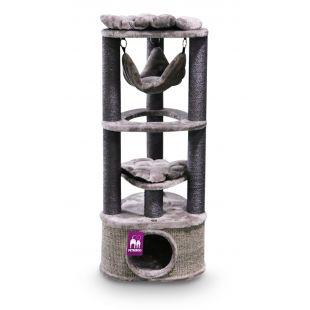 PETREBELS kriimustuspost kassidele 50x50x120 cm, pruun