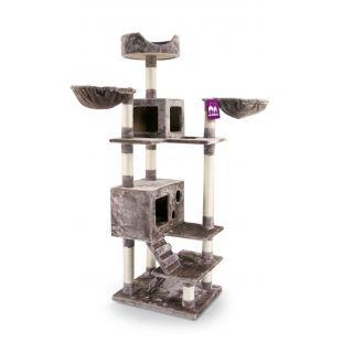 PETREBELS kriimustuspost kassidele 60x50x175 cm, pruun