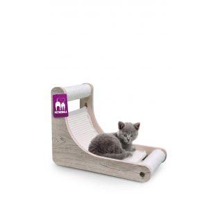 PETREBELS когтеточка для кошек 40x23x30 cm, кремовая