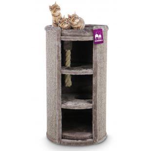 PETREBELS когтеточка для кошек 49x49x98 cm, коричневая