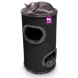 PETREBELS когтеточка для кошек 45x45x80 cm, черная