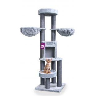 PETREBELS когтеточка для кошек 60x60x186 cm, серая
