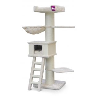 PETREBELS когтеточка для кошек 60x60x180 cm, кремовая