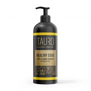 TAURO PRO LINE Healthy Coat Deep Cleaning Shampoo, šampoon koertele ja kassidele 1 l