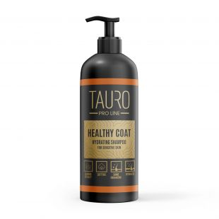 TAURO PRO LINE Healthy Coat hydrating Shampoo, šampoon koertele ja kassidele 1 l