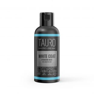 TAURO PRO LINE White Coat hydrating mask, маска для собак и кошек 50 мл