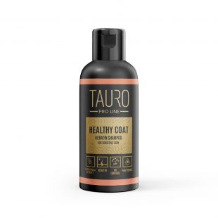 TAURO PRO LINE Healthy Coat Keratin Shampoo, шампунь для собак и кошек 50 мл