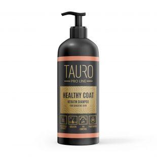 TAURO PRO LINE Healthy Coat Keratin Shampoo, шампунь для собак и кошек 1000 мл