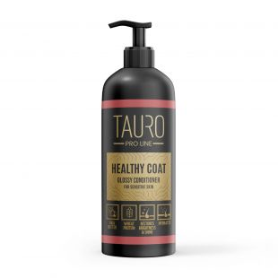 TAURO PRO LINE Healthy Coat glossy conditioner, бальзам для собаки и кошки 1000 мл