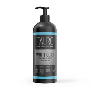 TAURO PRO LINE White Coat hydrating Shampoo, шампунь для собак и кошек 1000 мл