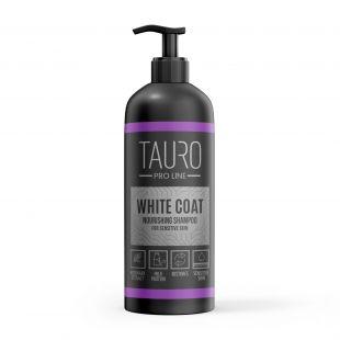 TAURO PRO LINE White Coat Nourishing Shampoo, šampoon koertele ja kassidele 1 l