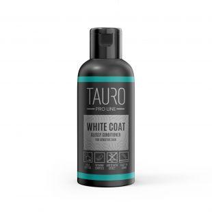 TAURO PRO LINE White Coat glossy conditioner, бальзам для собаки и кошки 50 мл
