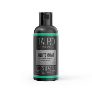 TAURO PRO LINE White Coat Whitening Shampoo, šampoon koertele ja kassidele 50 ml