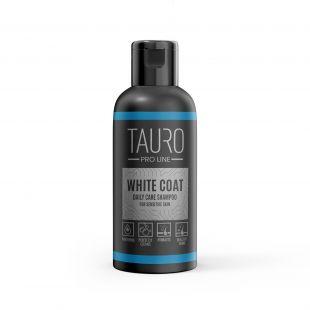 TAURO PRO LINE White Coat Daily Care Shampoo, šampoon koertele ja kassidele 50 ml