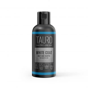 TAURO PRO LINE White Coat Daily Care Shampoo, шампунь для собак и кошек 50 мл