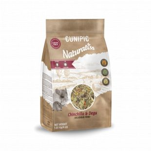 CUNIPIC Naturaliss корм для шиншиллы и дегу 1,81 кг