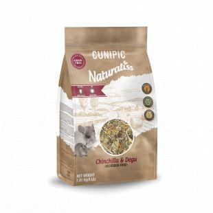 CUNIPIC Naturaliss tšintšilja ja degu sööt, 1,81 kg 1,81 kg