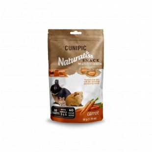 CUNIPIC Naturaliss Multivitamiini закуска для грызунов с зеленью, 50 г
