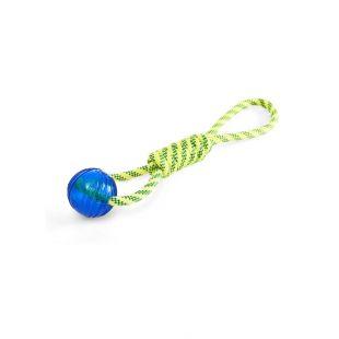 MISOKO&CO Плавающая игрушка-веревка для собак желтая, 41 см