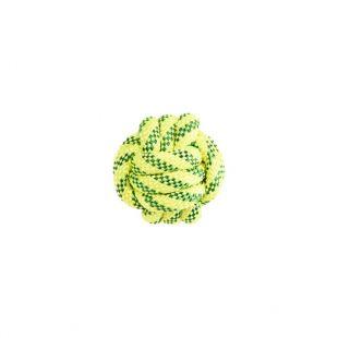 MISOKO&CO Ujuv mängupall koertele kollane, 7 cm