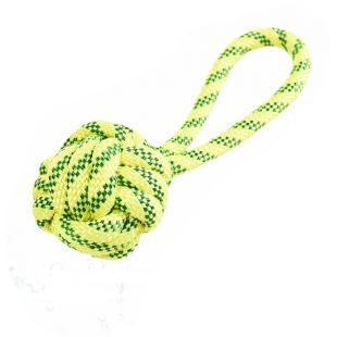 MISOKO&CO Плавающий мяч для собак желтый, 21 см