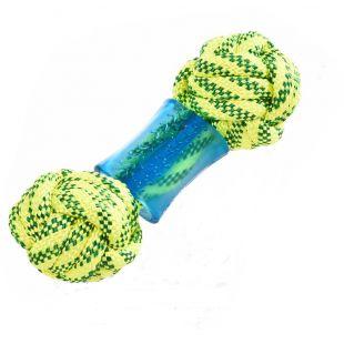 MISOKO&CO Плавающая игрушка для собак желтая, 18 см