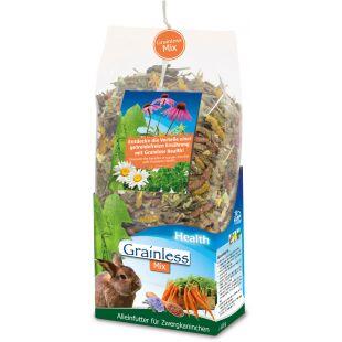 JR FARM Grainless Health Mix Dwarf Rabbit näriliste toit 1,2 kg