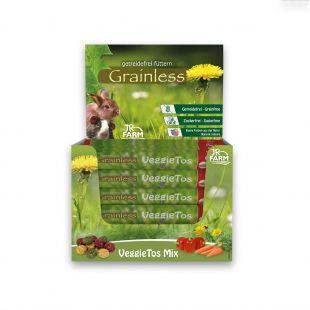 JR FARM Grainless VeggieTos Mix näriliste söödalisand 25 g