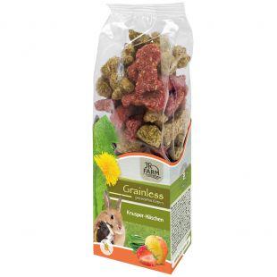 JR FARM Grainless Crispy jänku näriliste toit 150 g