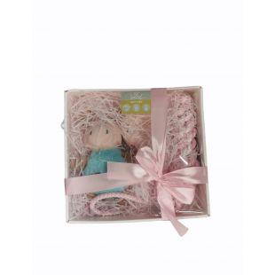 HIPPIE PET Набор игрушек для щенков розовый, 4шт / набор