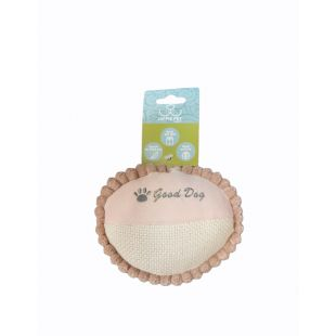 HIPPIE PET Игрушка для щенков, мяч розовый, 5x11см
