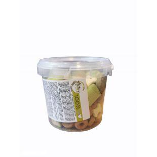 NATURE LIVING Koeraküpsiste segu, värvilised rõngad 400 g