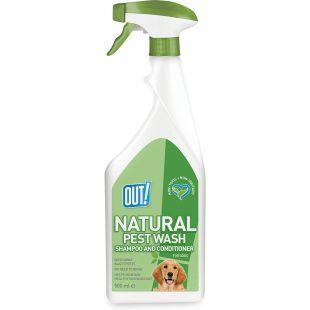 OUT! Шампунь (кондиционер)-спрей для собак антипаразитарный, несмываемый, 500 мл