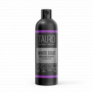 TAURO PRO LINE White Coat Nourishing Shampoo, šampoon koertele ja kassidele 250 ml