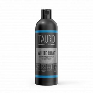 TAURO PRO LINE White Coat Daily Care Shampoo, šampoon koertele ja kassidele 250 ml