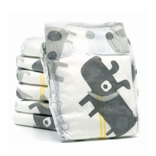 MISOKO&CO Одноразовые подгузники для кобелей с щенками, уголь, индикатор влажности, запах лаванды, размер S, 12 шт.