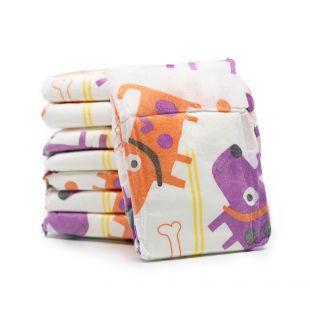 MISOKO&CO Одноразовые подгузники для сук щенки и косточки, индикатор влажности, персиковый аромат, размер XS, 12 шт.