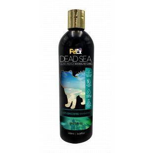 PETEX DEAD SEA Anti-Shedding Shampoo Шампунь для собак и кошек, помогающий при чрезмерном выпадении шерсти, 400 мл