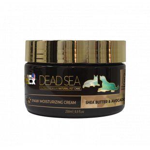 PETEX DEAD SEA Paw Moisturizing Cream SHEA BUTTER & AVOCADO Защитный крем для подушечек лап собак и кошек, 250 мл