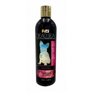 PETEX DEAD SEA Oatmeal and Pomegranate Conditioner Кондиционер для собак и кошек, придающий шерсти шелковистость и блеск, 400 мл