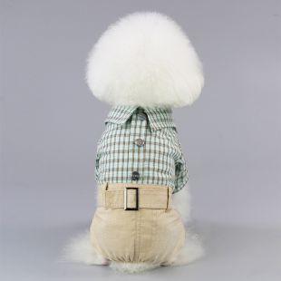 PAW COUTURE платье для собак размер L, зелёный